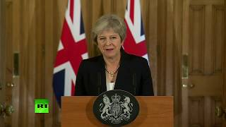 LIVE: Theresa May delivers a mystery statement on #Brexit at Downing St