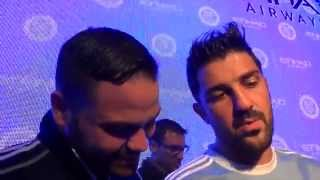 Claudio Reyna and David Villa ~ New York City FC 11/13/14