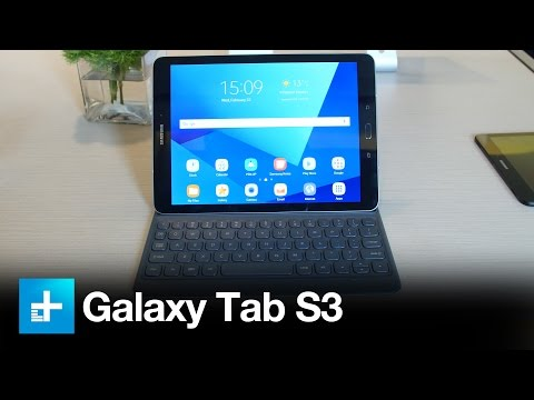 Samsung Galaxy Tab S3 - Hands On at MWC 2017