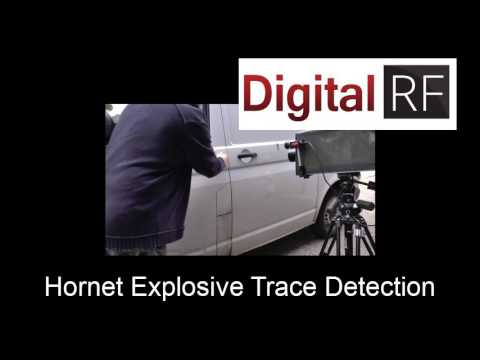 Digital RF Hornet Explosives Residue Detection Vehicle