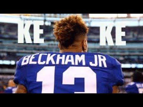 Odell Beckham Jr. Mix || KEKE by TEKASHI69 FT. FETTY WAP AND A BOOGIE || HD HIGHLIGHTS