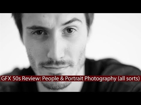 GFX 50s Review: People & Portraiture (studio, natural in/outdoor light & more)