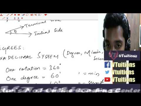 Chapter 9 Fundamentals of Trigonometry Math First Year Class - Sindh Board in Urdu and Hindi