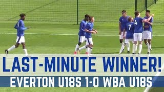 U18 HIGHLIGHTS: EVERTON 1-0 WEST BROM