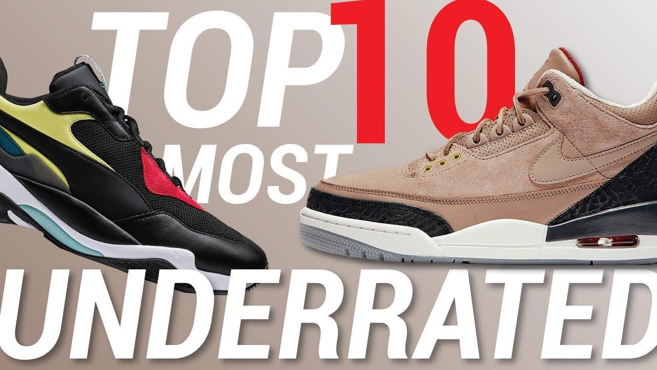 1f0b5187f92712  SethFowler  MostUnderratedSneakers  2018SneakerReleases