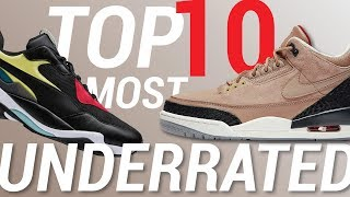 TOP 10 Most Underrated 2018 Sneaker Releases