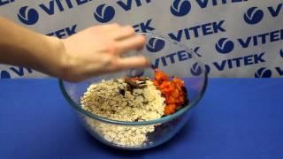 Рецепт приготовления печенья из мюсли в мультиварке VITEK VT-4217 BN