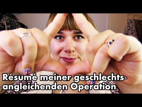 RÉSUMÈ MEINER GESCHLECHTSANGLEICHENDEN OPERATION!