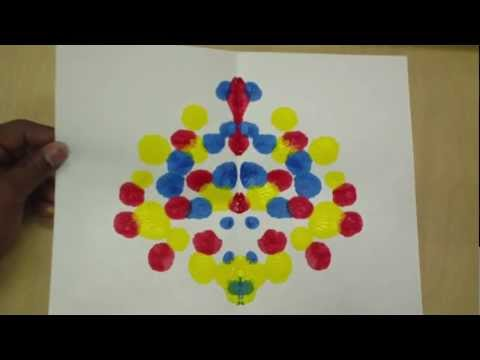 Drawing Lines Of Symmetry Worksheet Ks : Art lessons for kids: symmetry painting youtube