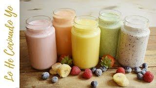5 Recetas de Smoothies para el Desayuno | LHCY