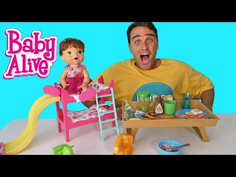 Baby Alive Breakfast In Bed Toy Review Konas2002