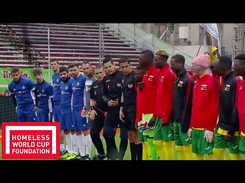 Romania v Zimbabwe | FULL MATCH | Day 2, Pitch 1 | Homeless World Cup 2018