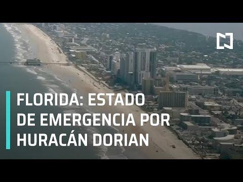 Florida en estado de emergencia por Huracán Dorian - Las Noticias