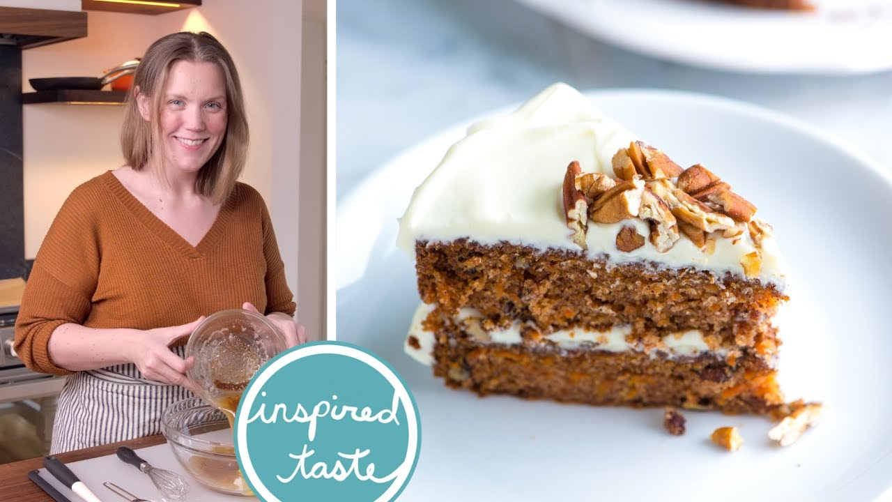 Incredibly Moist Carrot Cake Recipe Homemade Carrot Cake Youtube