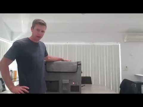 Camping Fridge Review, Evakool Koolmate 55 Litre Fridge Freezer Pack