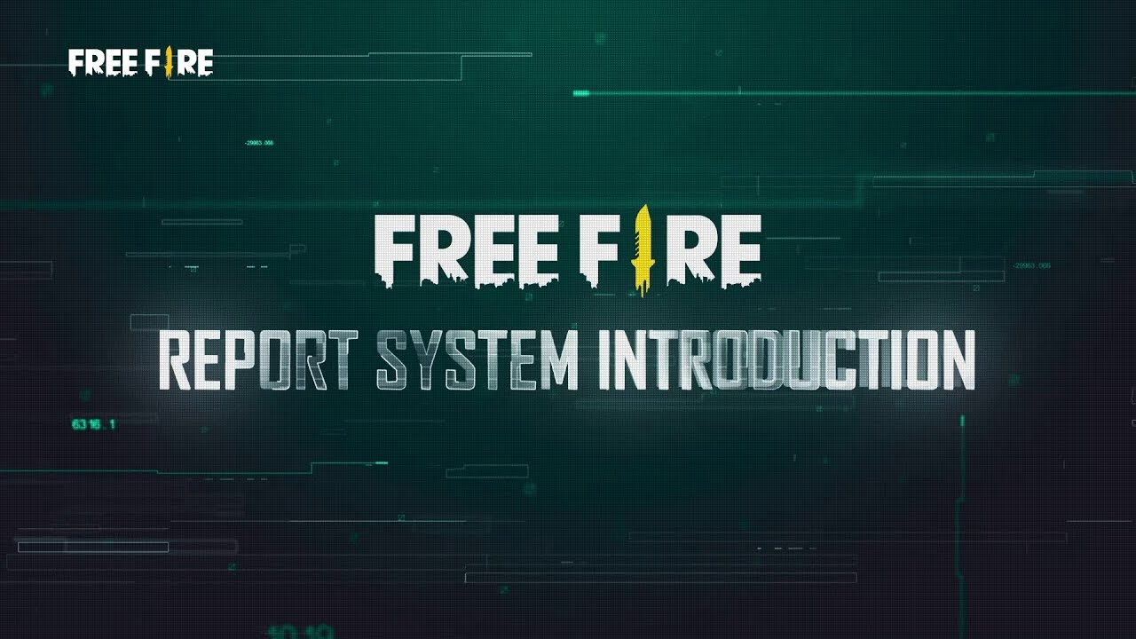 Free Fire Report System Introduction | Garena Free Fire