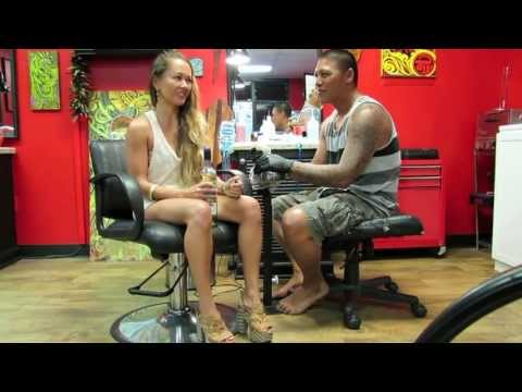 Getting My First Tattoo: Polynesian Tribal Artwork in Hawaii