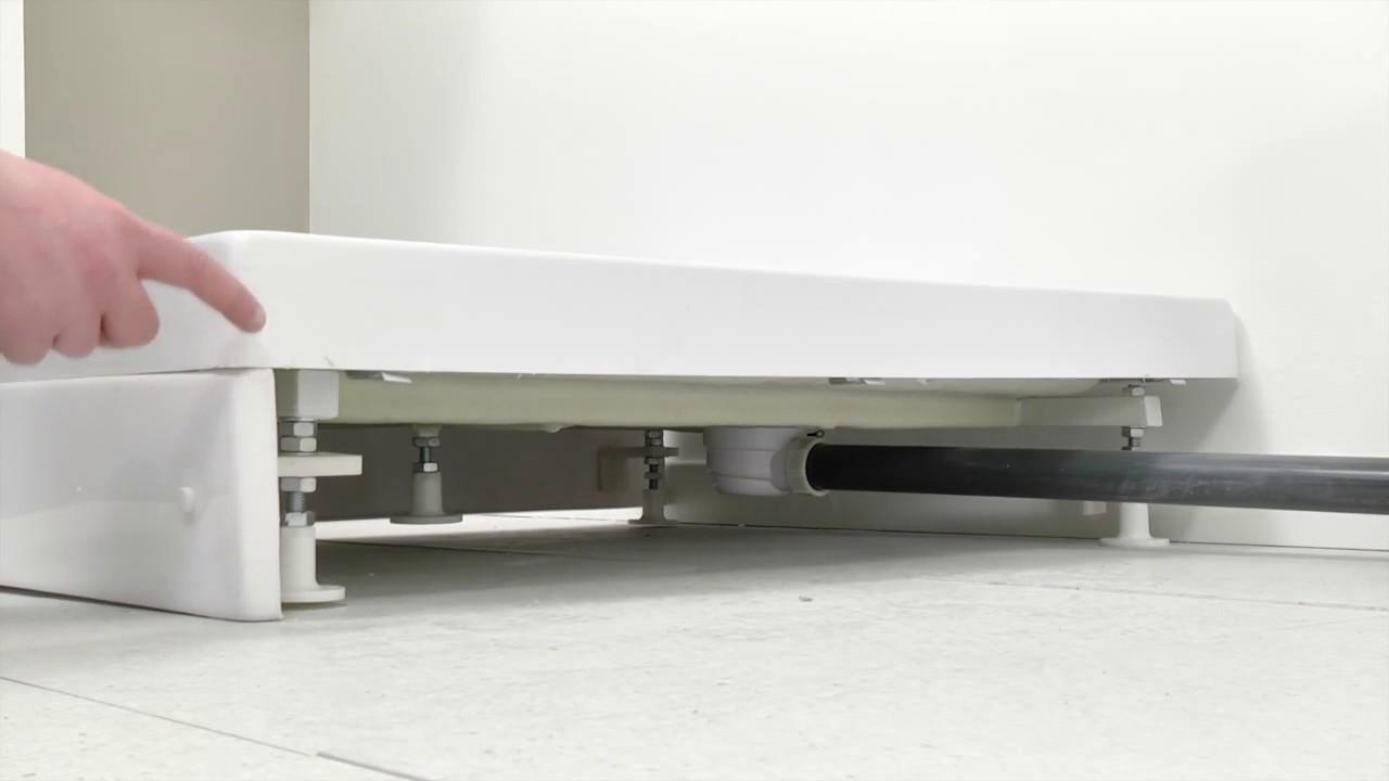 Installare un trituratore per acque scure - YouTube