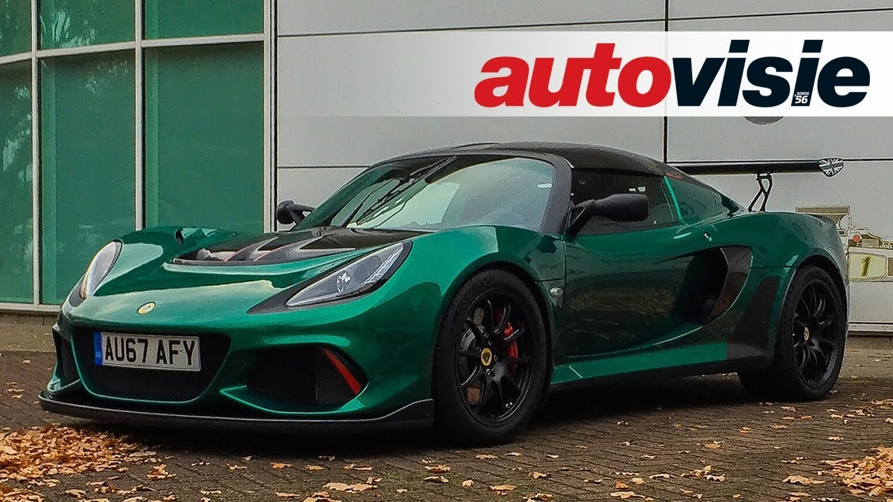 First impressions: Lotus Exige Cup 430 (2017) - ENGLISH - YouTube