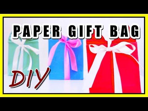 DIY Paper Gift Bag 😍 DIY Crafts [Life Hacks]