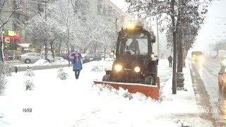 Хуртовини, налипання мокрого снігу та ожеледиця: снігова негода у Києві