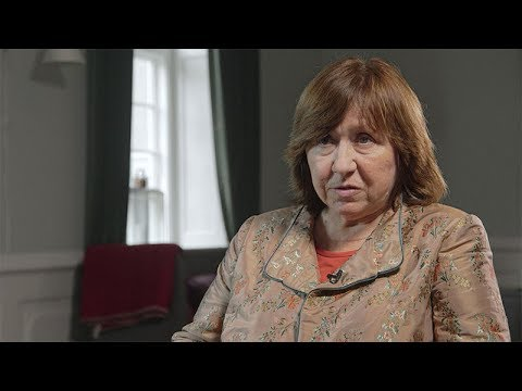 Svetlana Alexievich Interview: A Human is a Scary Creature