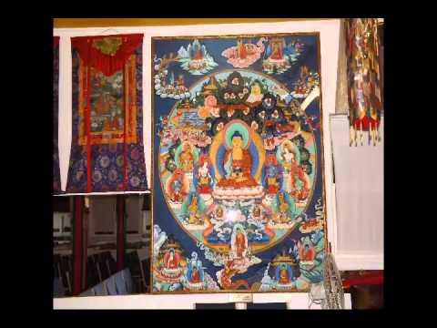 Lama Sab Services at Tashi Lhunpo Buddhist Temple, Howell NJ, USA