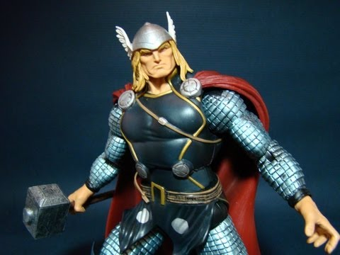 Marvel Legends Thor Wave 1 Review
