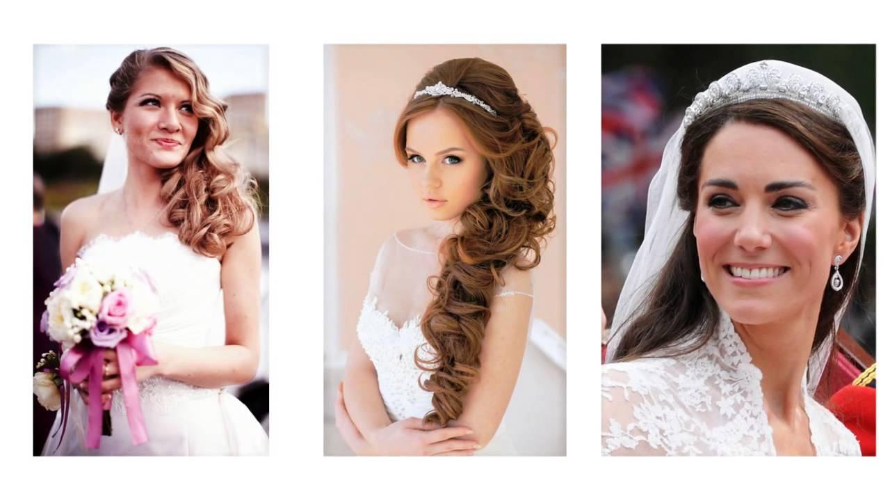 Peinados para bodas a un lado