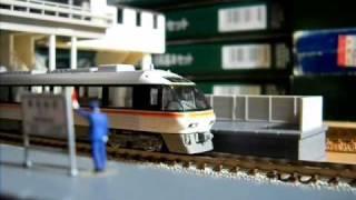 Nゲージ JR列車影片