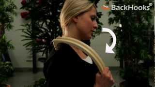 Лечебные крючки BackHooks(BackHooks - это многостороннее и легкое в использовании приспособление для самостоятельного облегчения боли..., 2012-11-13T00:59:49.000Z)