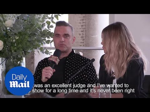 Robbie Williams: I'll be asking Gary Barlow for X Factor tips - Daily Mail