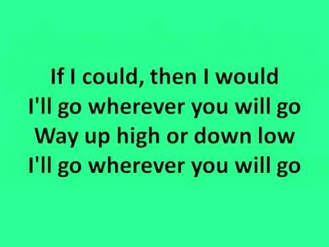 Boyce Avenue - Wherever you will go (Lyrics)