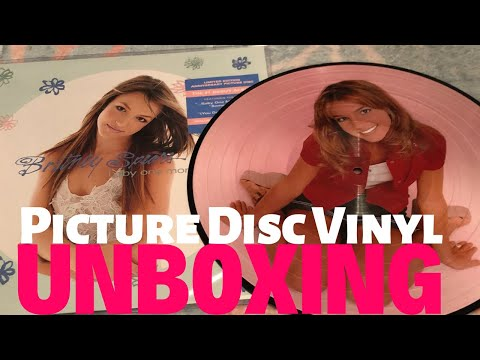 ...Baby One More Time PICTURE DISC VINYL UNBOXING | Britney Spears Mp3