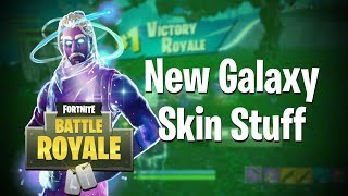 New Galaxy Skin Stuff! (Fortnite BRs) w/ChosenDroid