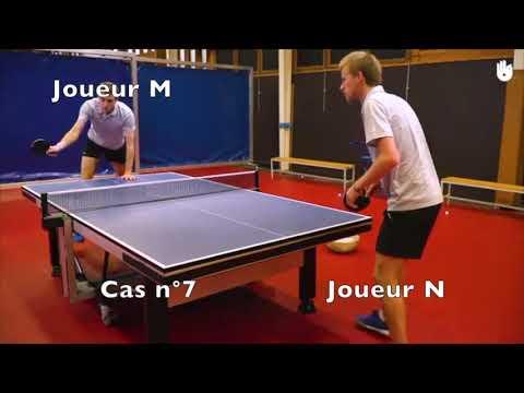 Les Regles En Tennis De Table L Arbitre Eps Youtube