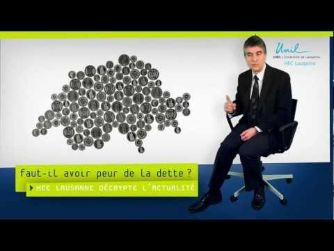 Faut-il avoir peur de la dette ? - HEC Lausanne décrypte l'actualité # 1