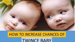 Natural Ways To Conceive Twins How To Increase Chances of Having Twins Boys