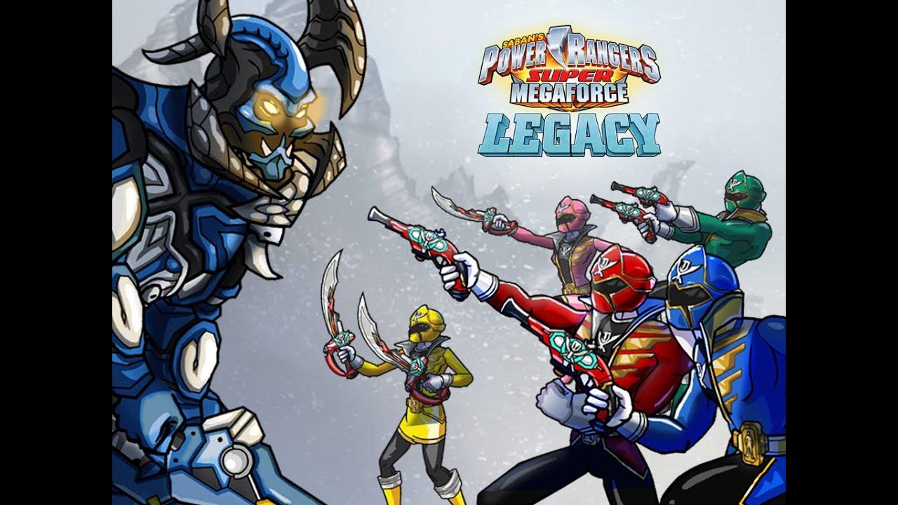 Power Rangers Super Megaforce - Legacy - Power Rangers ...