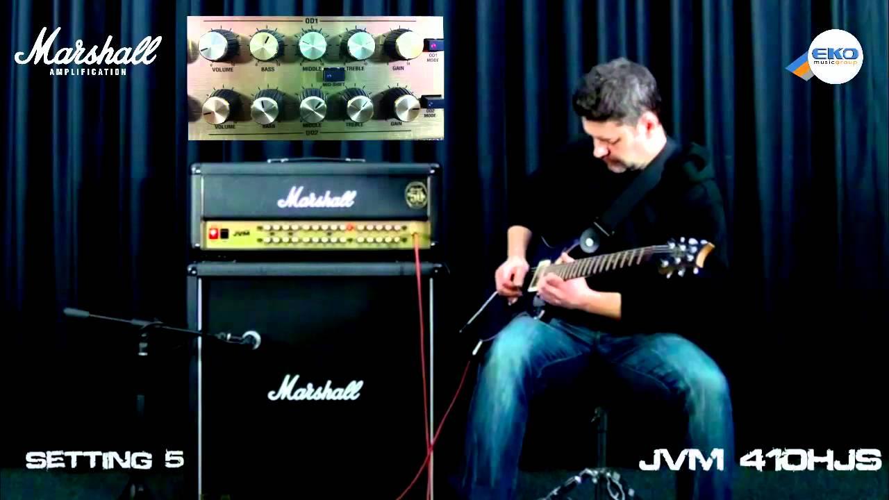 Marshall jvm410js joe satriani signature sound sample youtube.