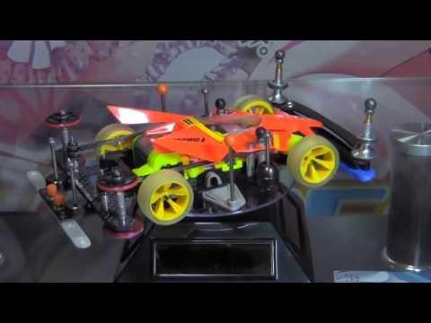 Tamiya Mini4wd - Body pop-up system Machine (Super II chassis)