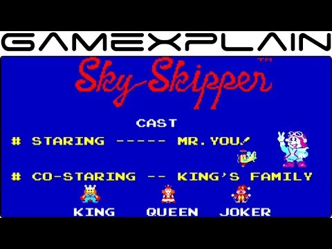 Arcade Archives: Sky Skipper Gameplay (First Time Playable Outside Japan!)