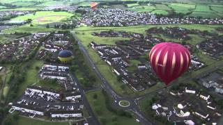 Music City! Sky Orchestra Derry Londonderry - Spectacular aerial views from Hot air Balloon