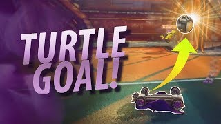 INTENDED TURTLE GOAL! (Rocket League Funny Moments #8) thumbnail