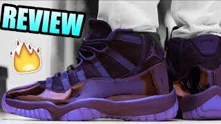 Jordan 11 PROM NIGHT Review ! Cap And Gown Jordan 11 On Foot !