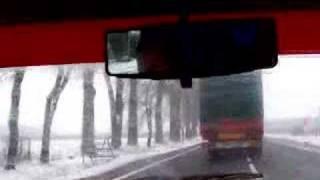 Crazy Truck Driver vs  Tiry - fart przy wyprzedzaniu