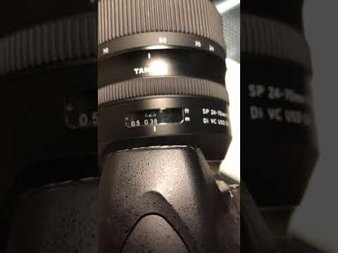 canon 24 70 manual focus problem
