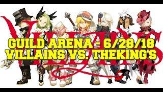 Dragon Nest M - SEA - Guild Arena - 6/28/18 - Villains Vs. TheKing's- #MacyRah