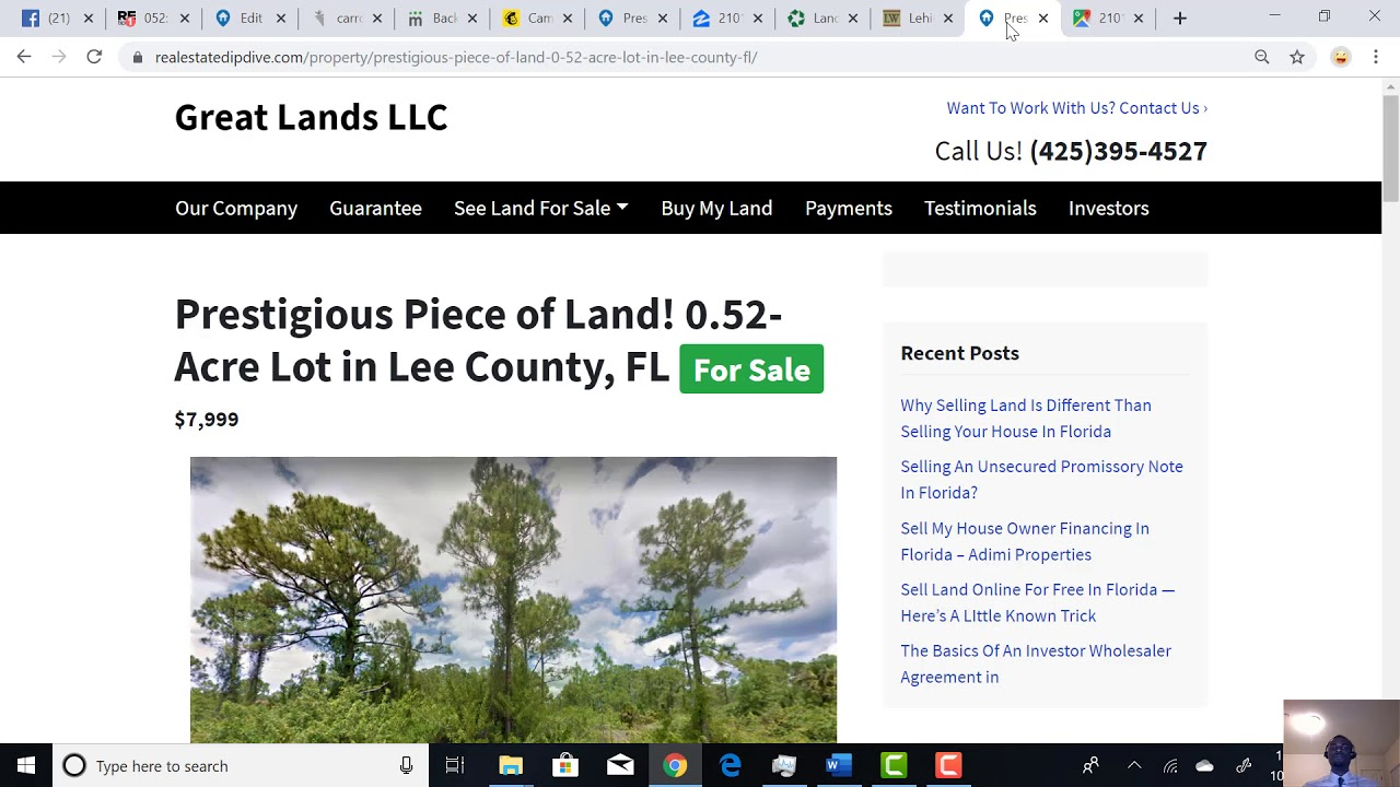 Prestigious Piece of Land! 0.52-Acre Lot in Lee County, FL