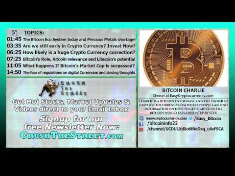 Invest Now! Its Still Early For Crypto Currency Investors!   Bitcoin Charlie Interview